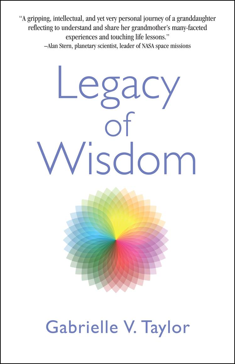 This fascinating book on the topic of wisdom was written by Gabrielle V. Taylor and Mark Graham Communications